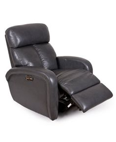 Criss Leather Power Recliner with Power Headrest  sc 1 st  Pinterest & Dania - With a clean straightforward look the Drosera power ... islam-shia.org