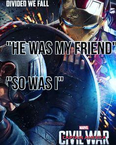 Poor Tony, I'm still on team Iron Man