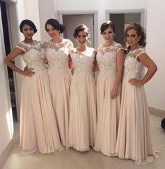A-line Bridesmaid Dresses,Unique Bridesmaid Dress,Floor Length Bridesmaid Dress,Cheap Bridesmaid Dresses,New Arrival Bridesmaid Dress,PD00184