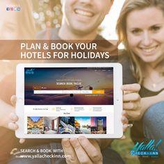 #Plan & #Book #Hotels for #Holidays www.yallacheckinn.com