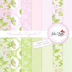 Papers - Romantic Papers.01 by Julia Fialho ,background, commercial, scrap,