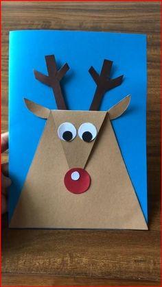 Simple DIY paper crafts-deer-just a few steps to do. Try now! Summer Crafts For Kids, Halloween Crafts For Kids, Paper Crafts For Kids, Craft Activities For Kids, Christmas Crafts For Kids, Holiday Crafts, Fun Crafts, Art For Kids, Thanksgiving Crafts For Kindergarten