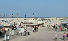 The beach at Ouistreham today