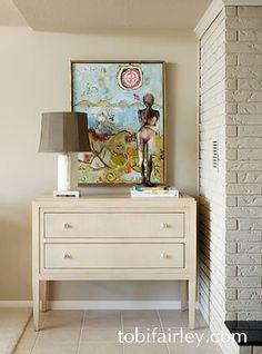 Design: Tobi Fairley! Hickory Chair Tricia Chest by Thomas O'Brien