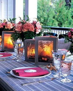 """See the """"Photo Centerpiece"""" in our Outdoor Lighting Ideas gallery"""