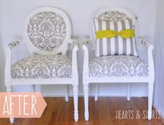 gray-white-louis-chairs