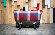 Trakke Wee Lug Harris Tweed Messenger Bag - £345. This bag offers everything you need for the daily commute - 22 litre capacity, a padded laptop compartment, cleverly arranged pockets and a stylish yet classic tweed look. This bag will definitely brighten up every dad's daily journey.