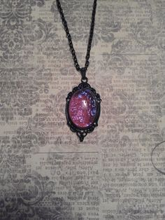 Tell Me Your Secrets. Vintage Dragon's Breath Opal by JujusCrafts, $32.00