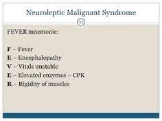 Afbeeldingsresultaat voor serotonin syndrome vs neuroleptic malignant syndrome