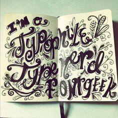 Blog: Little Miss Typophile - Doodlers Anonymous
