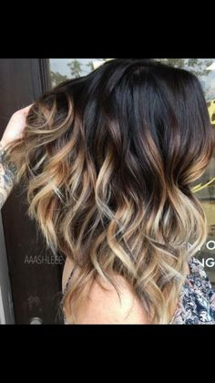 Balayage Hair, Ombre Hair, Hair Color And Cut, Hair Affair, Love Hair, Brunette Hair, Hair Today, Hair Highlights, Hair Dos