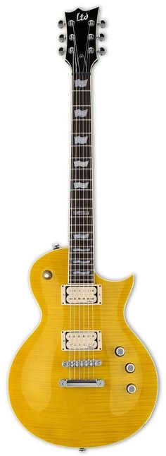 A classic LTD EC-401 upgraded with DiMarzio PAF 36th Anniversary humbuckers. Based on Larry DiMarzio own 1959 Gibson Les Paul, Vintage tone and expressiveness are what defines these PAF humbuckers. A