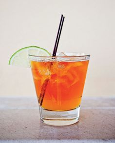 A Dark & Stormy at the Mandarin in Bermuda. Credit: Peter Frank Edwards #southernmade #gardenandgun