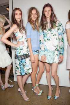 Peter Som Spring 2013 Nice shoes !