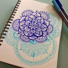 Circle #mandala #zentangle #doodle