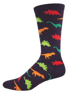 https://www.joyofsocks.com/collections/men/products/black-bright-dinosaur-socks-mens