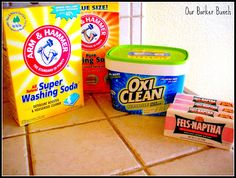 Our Barker Bunch: Homemade Laundry Detergent