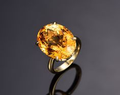 Best mm CT Cushion Cut Citrine Engagement Ring in k Rose Gold Yellow Gold White Gold Wedding Ring November Birthstone Ring on Etsy