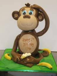 monkey cakes - Google Search