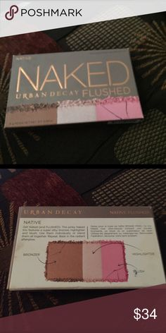 Urban decay naked FLUSHED Brand new not used-bronzer-highlighter-blush. From Ulta. Urban Decay Makeup Blush