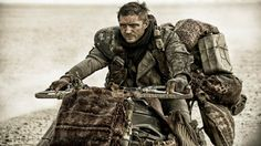 Tom Hardy in Mad Max Fury Road (2015) Movie