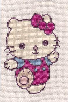 hello kitty cross stitch - Google Search