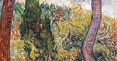 Vincent van Gogh Park of the Asylum at Saint-Remy, 1889 | Vincent van Gogh 1853-1890 | Pinterest | The Asylum, Asylum and Vincent van Gogh