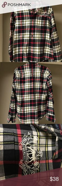 Ralph Lauren Flannel Ralph Lauren Flannel, Size 10 (runs fairly small for a size 10), Great Condition Ralph Lauren Tops