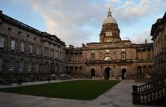 Edinburgh University - the 6th oldest university in history. Wow.