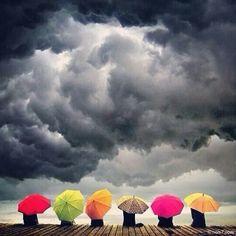 Esperant la tempesta.