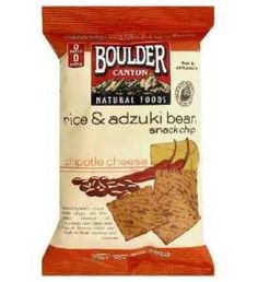 Boulder Canyon Rice & Bean Snack Chips with Adzuki Beans Chipotle Cheese 5 oz, Multicolor Boulder Canyon Chips, Bean Chips, Cheese Rice, Snack Recipes, Snacks, Bouldering, Healthy Lifestyle, Beans