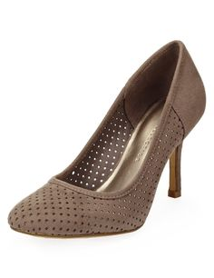 M&S Collection Punch Hole Court Shoes with Insolia® £25
