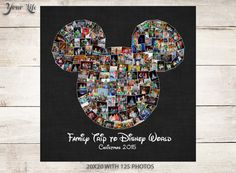 Remember your Disney Family Vacation by displaying all of your favorite Disney photographs! Display your family vacation photos every year in Disney World Trip, Disney Trips, Disney Photo Album, Mickey Mouse, Focus Images, Personalized Gifts For Mom, Disney Scrapbook, Disney Family, Photo Displays