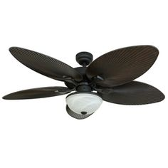 Shop Litex 44 In Natural Iron Outdoor Flush Mount Ceiling Fan With Light Kit At Lowes Com