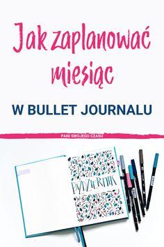 Dzisiaj Gosia z Przetwórni Wspomnień pokaże Wam w jaki sposób podchodzi do zaplanowania miesiąca w swoim #bujo. Gosia to artystyczna dusza i jej planowanie jest piekne, estetyczne i kolorowe – pamiętaj, że każdy planuje na swój sposób – tak jak lubi i co najważniejsze – tak jak mu się sprawdza 🙂 Bullet Journal Inspiration, Bujo, Productivity, Diy, Bricolage, Do It Yourself, Homemade, Diys, Crafting