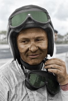 Bruce McLaren photographed by Eric della Faille at Nassau, 1966. Originally a black and white photo, I have colorized it.