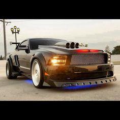 Holy Mustang Batman!