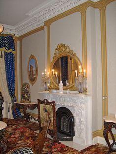 American high Victorian parlor