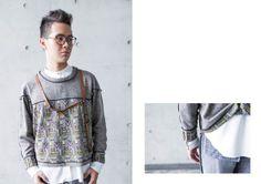 "Model / 陳可評 Photography /張育晴 Designer / Enid Liao 2014 造反""Its BACK!"