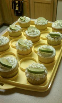 Margarita Cupcakes for Cinco de Mayo