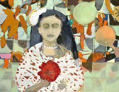 Cristina Canale  Vozes e  Oil on canvas, 140 x 180 cm, 2011