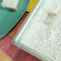 Recipe Picture:Homemade Vanilla Marshmallows