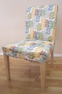 Creative Tradition: Custom Cover for an Ikea Henriksdal chair