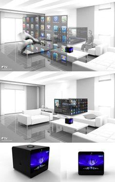 projected touchscreen tables work spaces moderne arbeitspl tze pinterest technologie. Black Bedroom Furniture Sets. Home Design Ideas