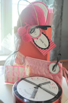 Eloise party favors #birthday #slumber #party