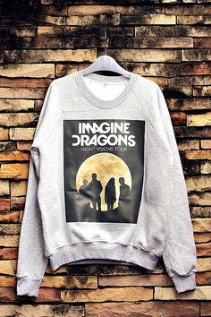 Imagine Dragons Sweatshirt Crewneck Sweater Unisex on Etsy, $32.99