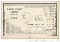 Algodon peruano. Producción, exportación y consumo año agricola de 1937. 2e año de sa publicación - 1