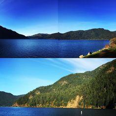 Lake Crescent Olympia National Park Washington