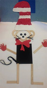 HWT - Mat Man as Cat in the Hat - Handwriting Without Tears