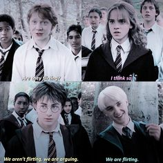 Ron's face like my face literally every time I see drarry